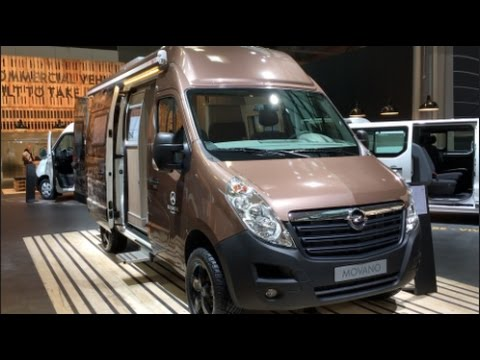 opel movano camper 2016 in detail review walkaround. Black Bedroom Furniture Sets. Home Design Ideas