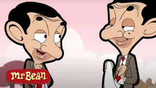 Double Trouble!   Mr Bean Two Beans   Funny Episodes Compilation   Season 1   Cartoons for Kids