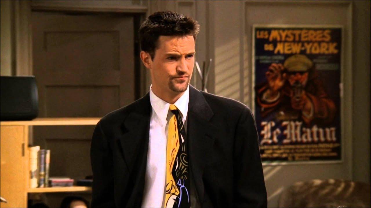 "Chandler's Epic Scene (Friends) ""Fowl? No"""