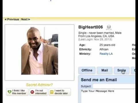 Christian mingle username search