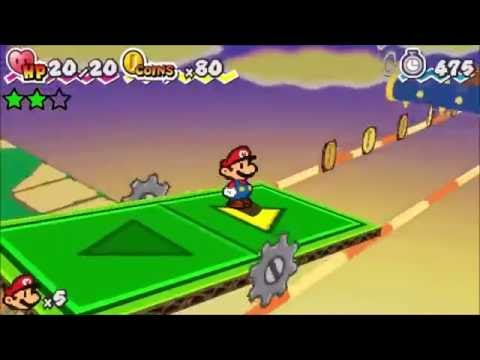 Paper Mario 3d Land 3d Action Platforming With Paper Mario