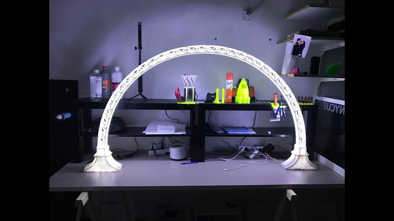 Pont Impression Lampe Lampe Led 3d OiPuwXTkZl