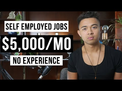 5 Best Self Employed Jobs For Beginners (In 2021)