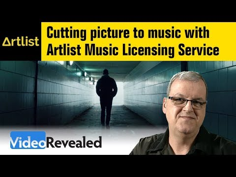 Cutting to music with Artlist