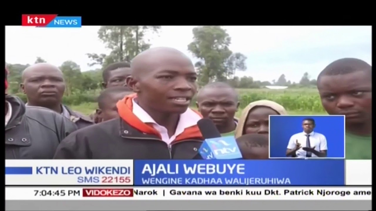 Download Ajali Webuye: Watu saba wafariki baada ya matatu kugonga lori, wengine kadhaa walijeruhiwa