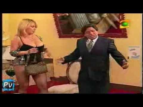 EVA MARIA ABAD con CHOLEDO en el especial del humor