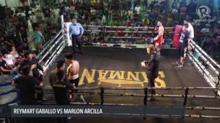 Boxing: Reymart Gaballo vs Marlon Arcilla