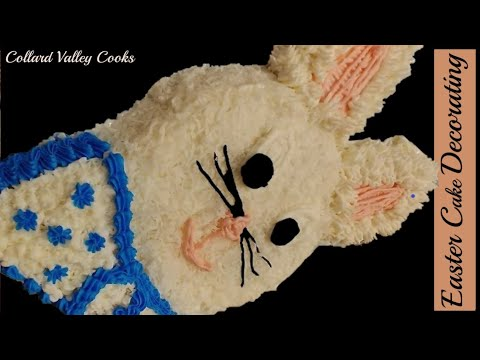 CVC's Easter Bunny Cake Decorating, Mama's Best Southern Baking Tutorials