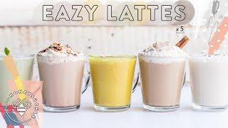 5 Super Hella Eazy LATTES for #BuzyBeez ☕