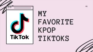 My Favorite Kpop TikToks (That Are Actually Funny)