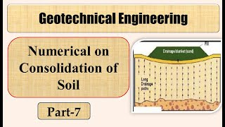 Numerical on Consolidation of Soil (Part 7) Mumbai University Solved Example