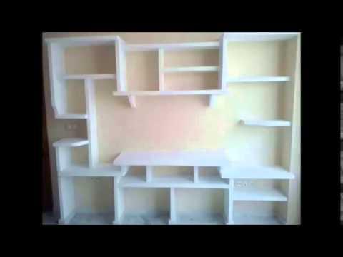 muebles de escayola modernos