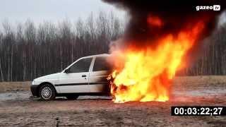 Próba Ogniowa Auta z LPG - reportaż