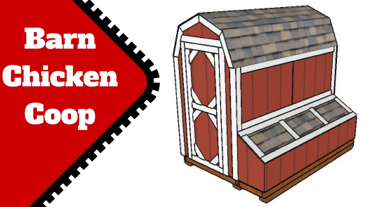 Barn Chicken Coop Plans