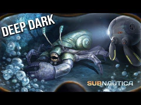 Subnautica - Ep 6  Deep Dark Cave of Creepy