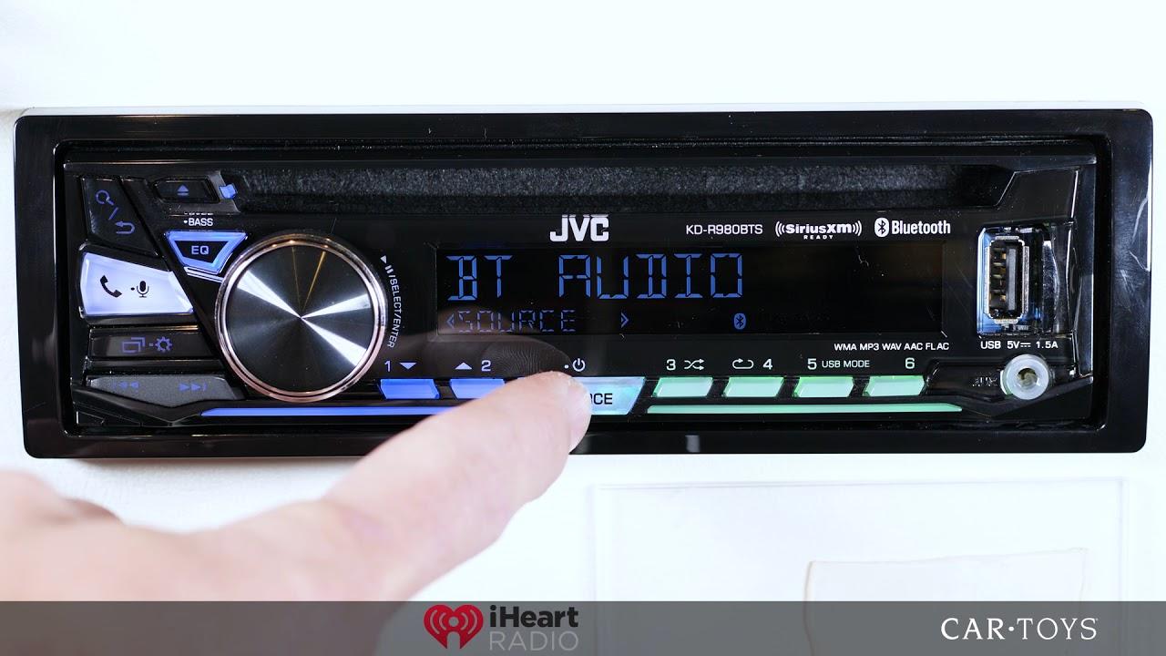 medium resolution of jvc kd r980bts car toys