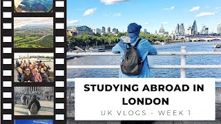 Story of a Study Abroad - UK Vlog Week 1