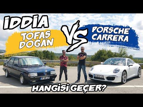 Doğan Kabak | İddia - Tofaş Doğan Vs Porsche Carrera 4S | Burak Ertem Ile Yarıştık