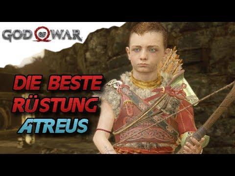 God Of War 4 Die Beste Rustung Fur Atreus Fundort God Of War Best Armor Atreus