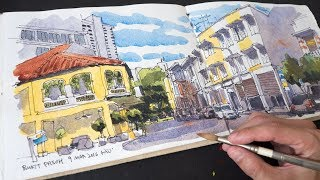 Bukit Pasoh Sketch Timelapse (9 Mar 2016)