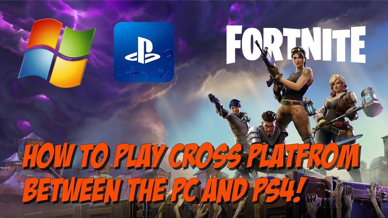 can you play fortnite on ps4 and pc