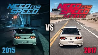 Need For Speed (2015) vs Need For Speed Payback (2017) | Graphics, Customization, Sounds and More!