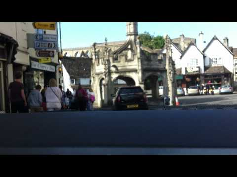 A drive through Malmesbury, Wiltshire, UK.........