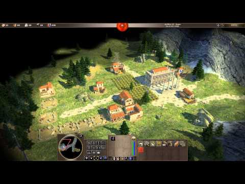 0 A.D. Alpha 15 Osiris - Romans Gameplay Part 1 - 동영상