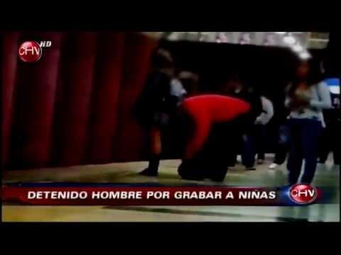 1458a82ba Hombre grababa debajo de la falda a escolares en el Metro de Santiago