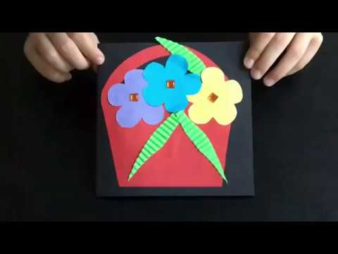 Diy Lovely Handmade Mother S Day Card Easy Crafts With Kids