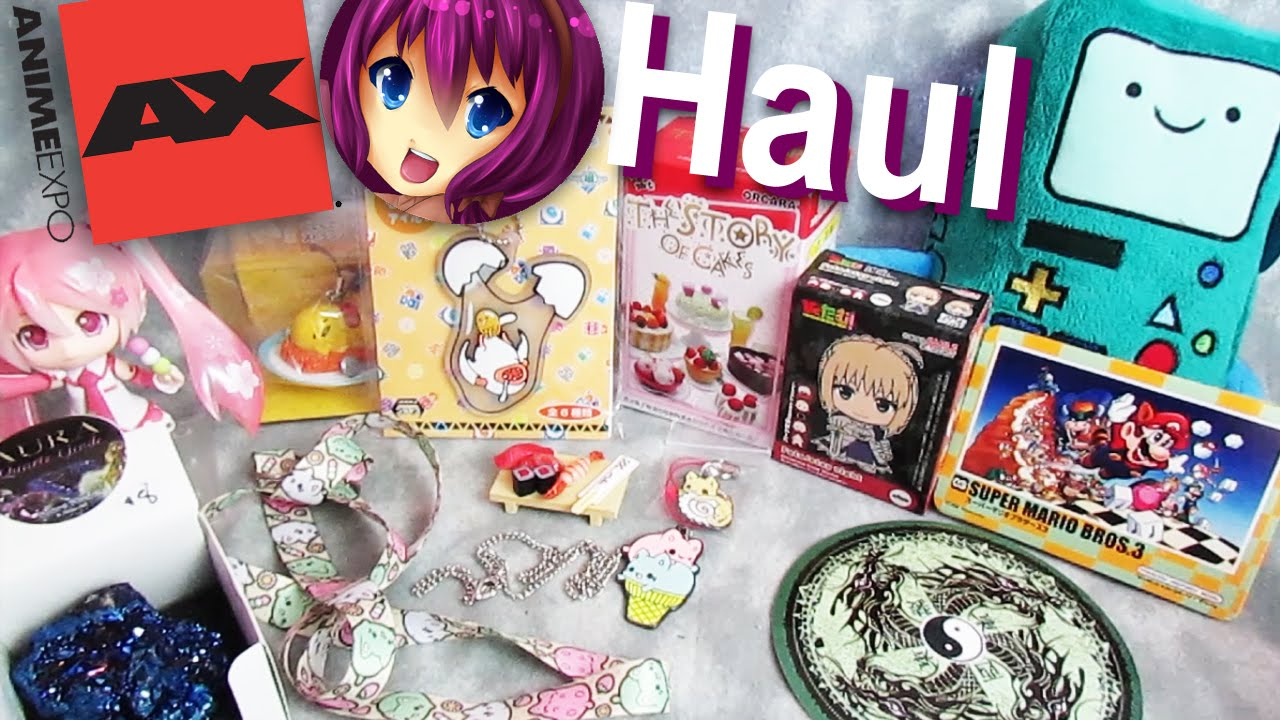 Anime Expo Haul Important UPDATES