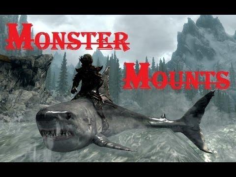 GamesBeat's Favorite Skyrim Mods #5: Monster Mounts