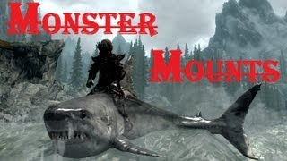 Skyrim Mod - Monster Mounts