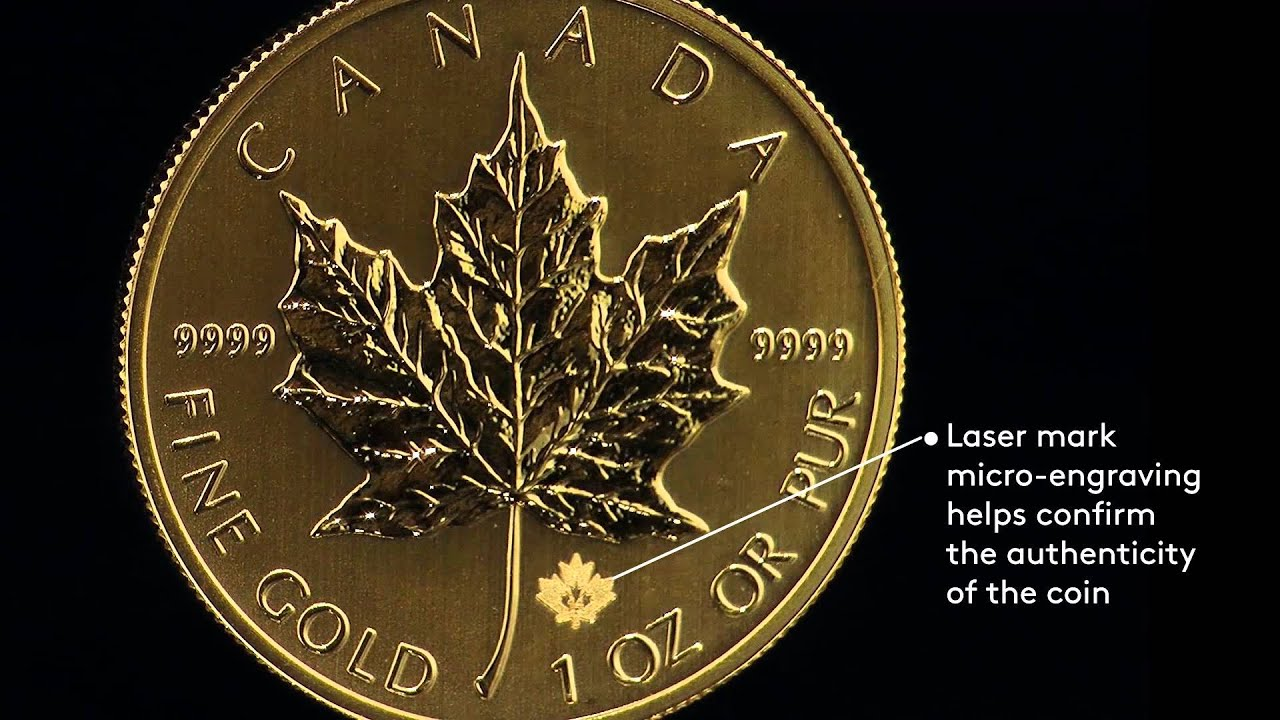 Gold Maple Leaf Coin 2014 Youtube