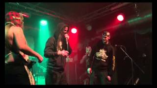 KADAVERFICKER - The Drinking Game (AJZ Bahndamm 28.12.2014)