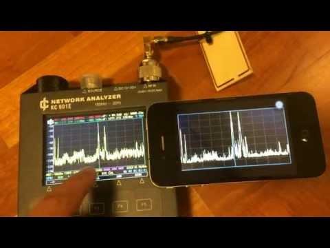 Low-cost Antenna Analyzer 1hz~3ghz