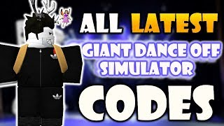 ALL LATEST 7 CODES IN [🎉 DANCE BATTLE!] 🕺 Giant Dance Off Simulator [ROBLOX]