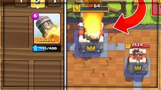 WTF! ONLY USING ROCKET TO THREE CROWN In Clash Royale!