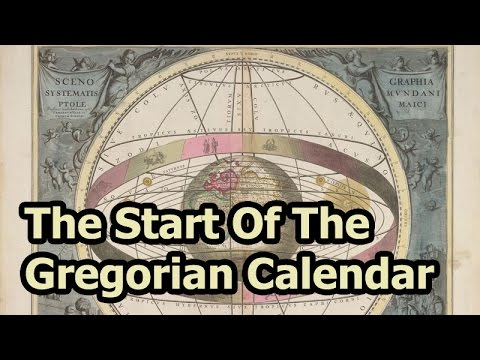 On This Day - 4 October 1582 - The Gregorian Calendar Was Adopted