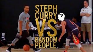 Steph Curry vs Random People
