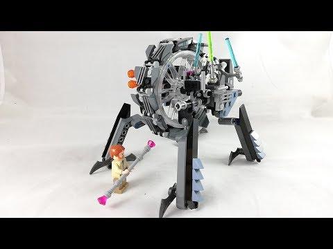 Recenzja - LEGO STAR WARS 75040 General Grievous Wheelbike