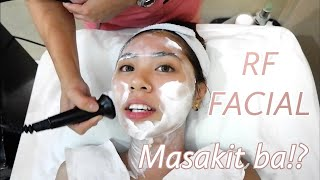 WHAT IS RF FACIAL? NAKAKALIIT NGA BA NG FACE? by Lhianne Lauren