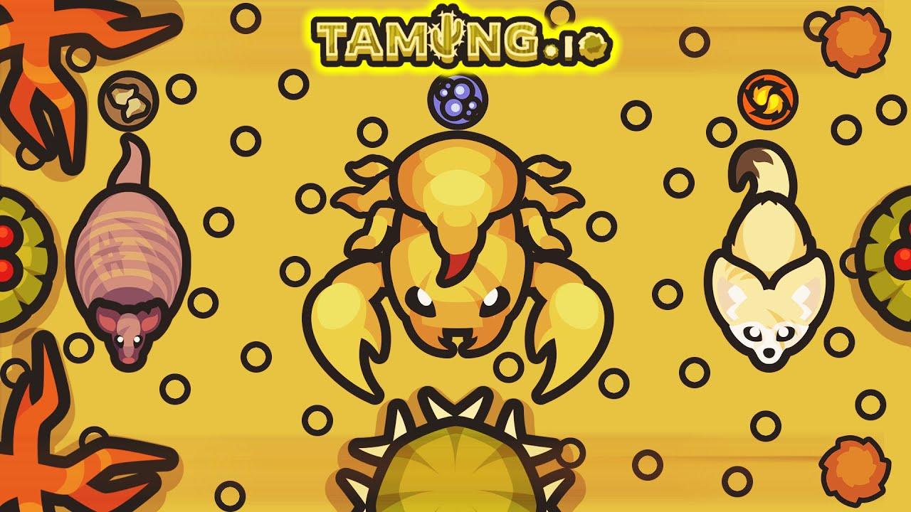 Taming.io - The Desert Biome!