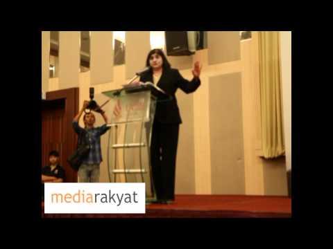 Debate On Electoral Reform: Ambiga vs Khairy - Opening Speech