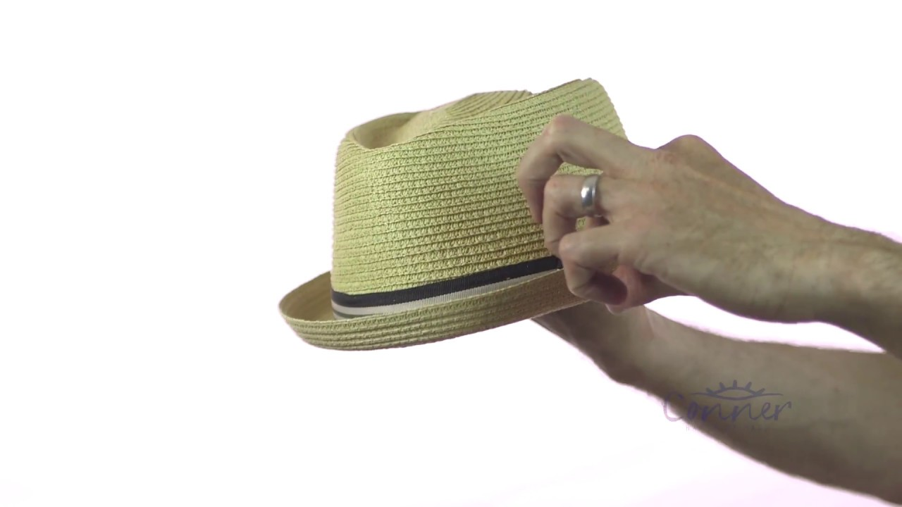 278421e84d Manchester Toyo Fedora | Conner Hats