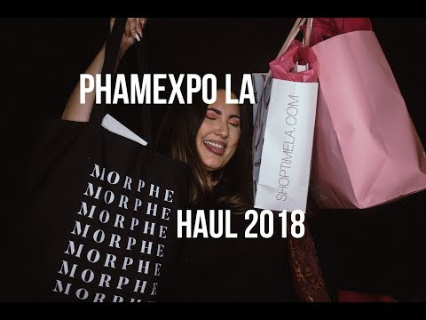 PHAMExpo LA Haul 2018  Lovejaycakes