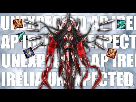 League Of Legends: Unexpected AP Irelia [OP XD GUIDE]