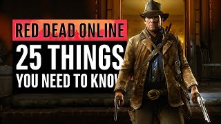 Red Dead Online | 25 Things You Need To Know