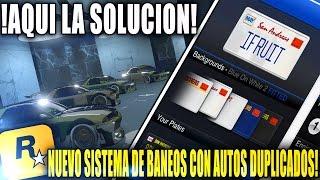 TRUCOS DE DINERO DUPLICAR AUTOS NUEVO SISTEMA DE BANEO MASIVO! | GTA 5 IFRUIT  SOLUCION A BANEO!