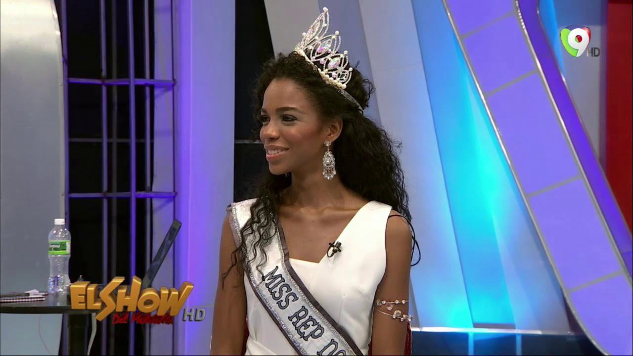 Clauvid Daly Miss Rep Dominicana Universo 2019 El Show